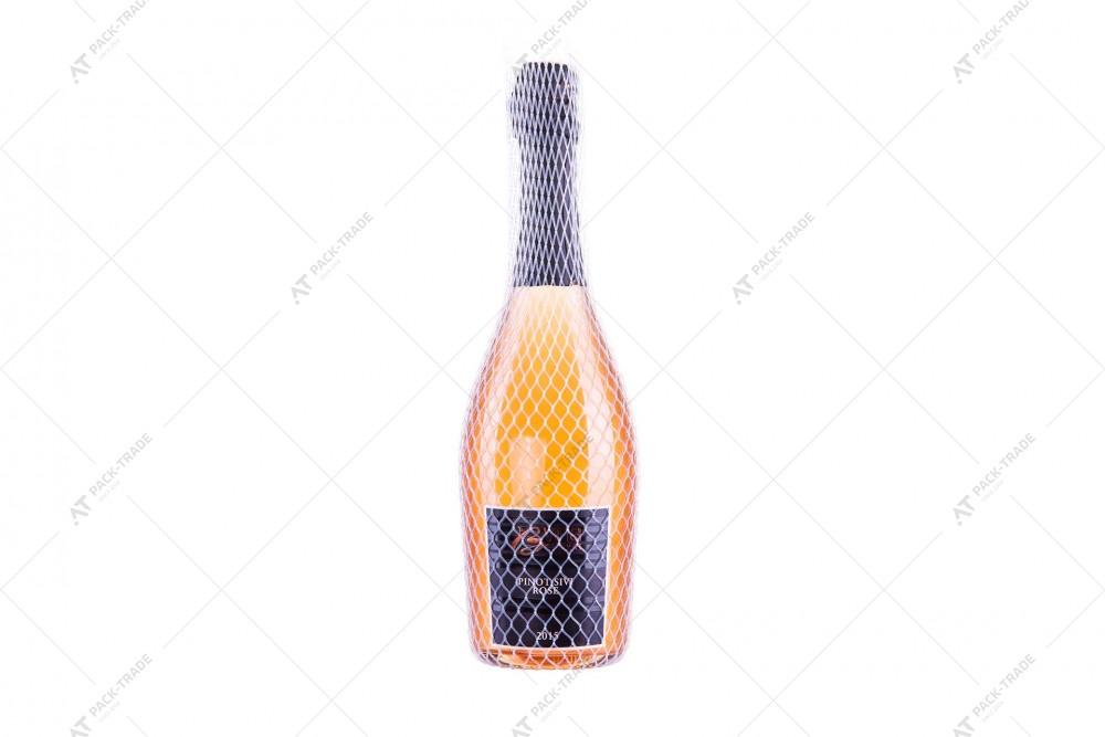 Защитная сетка для бутылок белая 125/4