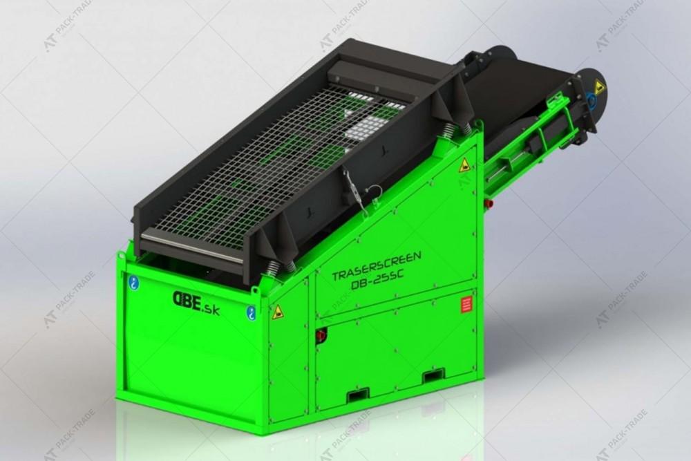 Грохот (вибрационный просеиватель) TRASERSCREEN DB-25SC
