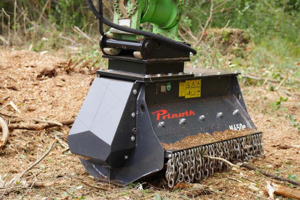 Мульчер лесной Prinoth M450e-1100 для экскаватора 16-20 т
