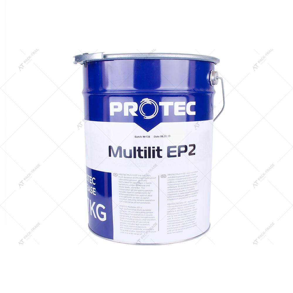 Масло Протек Multilit EP2 17 кг