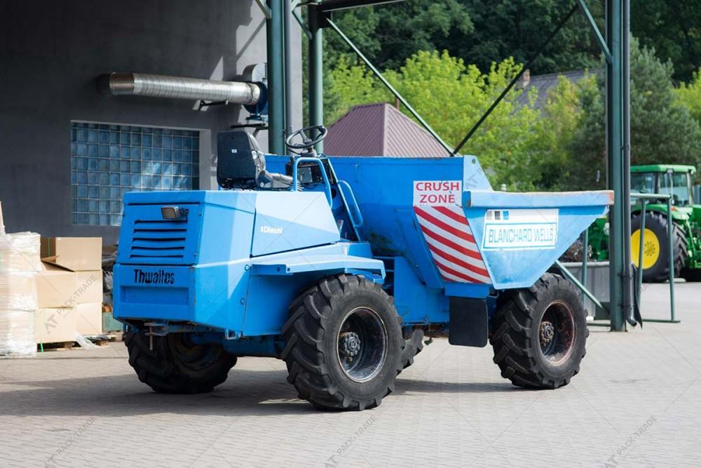 Мини-самосвал Thwaites 6 tonn Dumper 2003 г. № 628