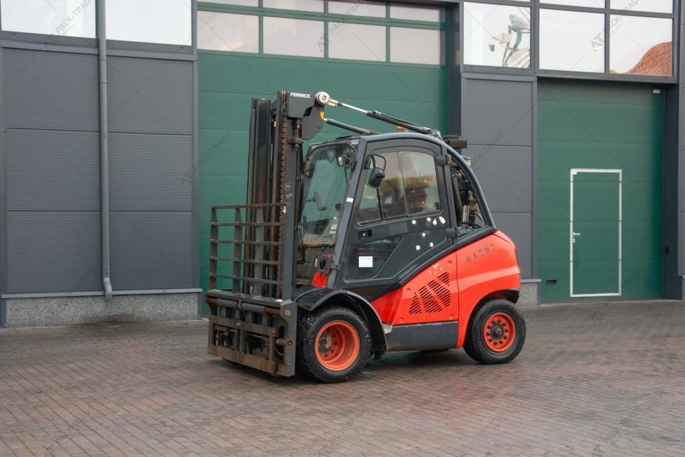 Linde H40D-01 2012 г. 8473 м/ч., № 2500