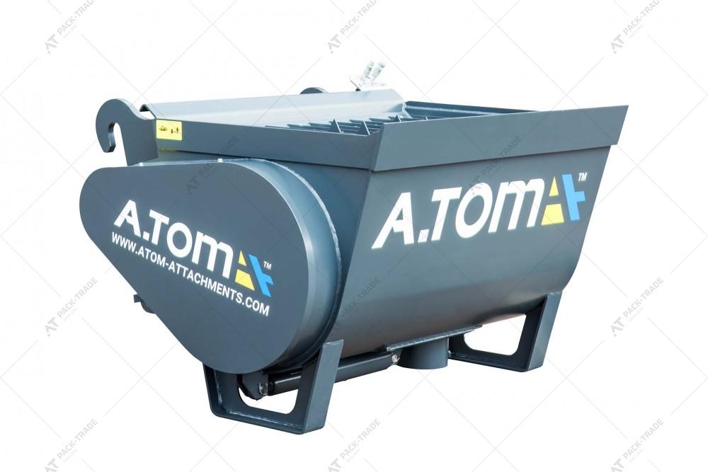 Ковш смеситель А.ТОМ 0,6 м³ (для бетона)