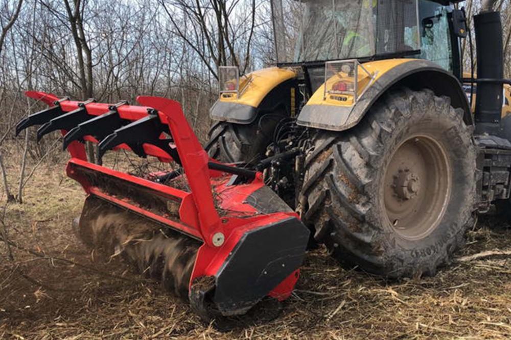 Мульчер для лісу Prinoth M650m-2550 для тракторів 200-350 к.с.