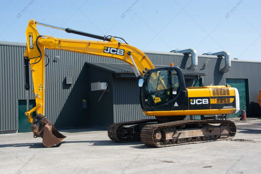 JCB JS220LC 2011 р. 128,4 кВт. 6 412 м/г., №2565 БРОНЬ
