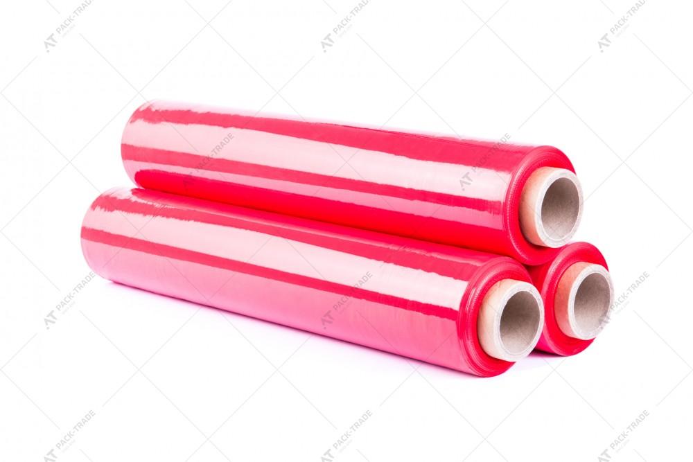 Стретч-плівка технічна 23 мкм JUMBO червона