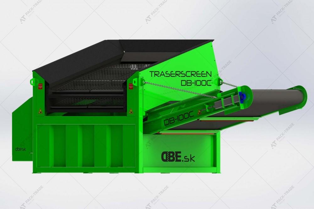 Грохот (вібраційний просіювач) TRASERSCREEN DB-100C