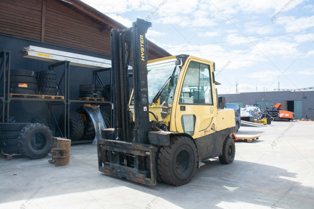 HYSTER H5.0FT 2011 г. 6980 м/ч., № 2330