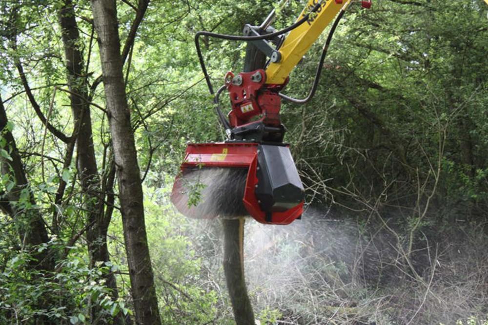 Мульчер для лісу Prinoth M450e-900 для екскаватора 6-15 т