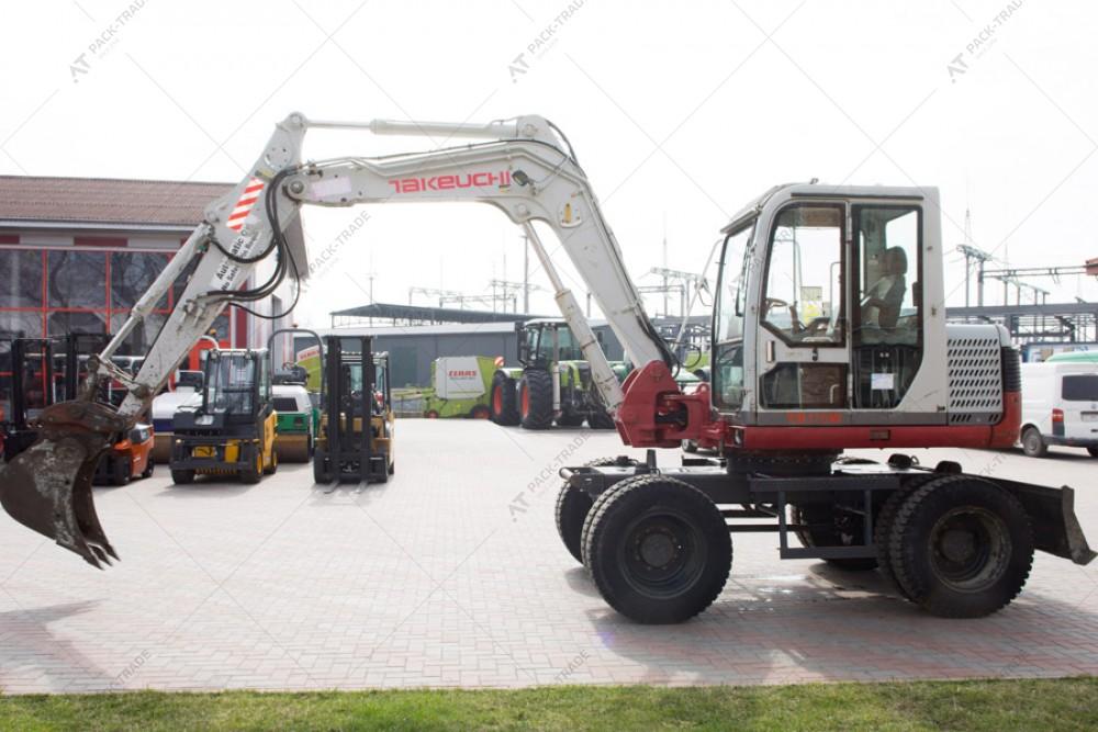 Takeuchi TB175W 2007 р. 6966 м/г., № 1124