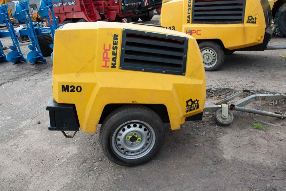 Компресор KEASER M20 2012 р. № 2381