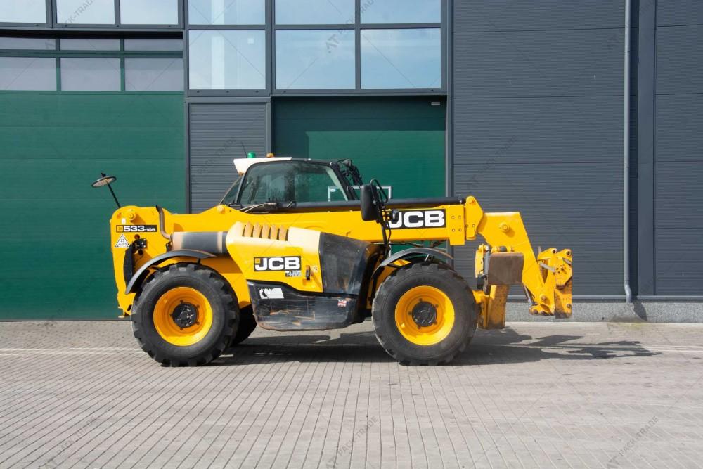 JCB 533-105 2016  г. 55 кВт., 5887 м/ч. №2754