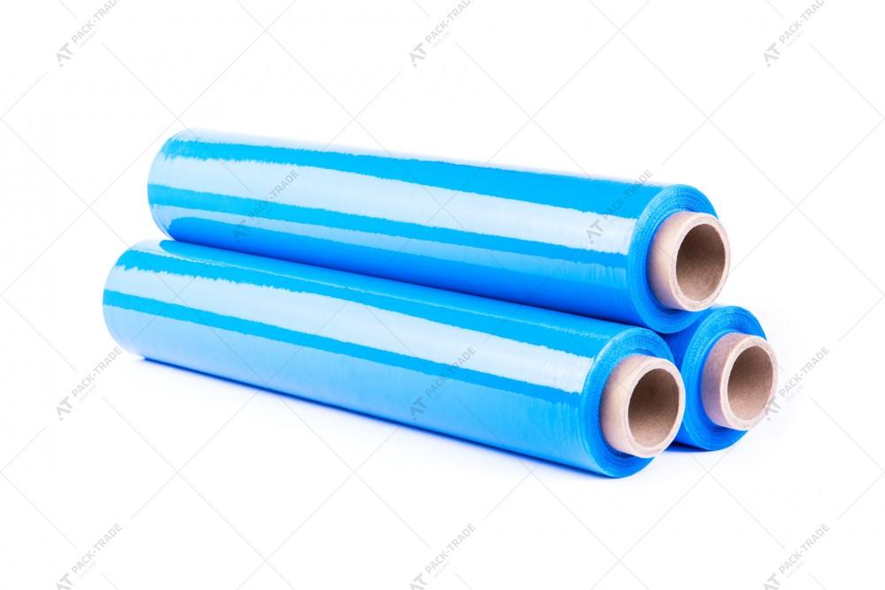 Стретч-пленка техническая 23 мкм синяя 250м