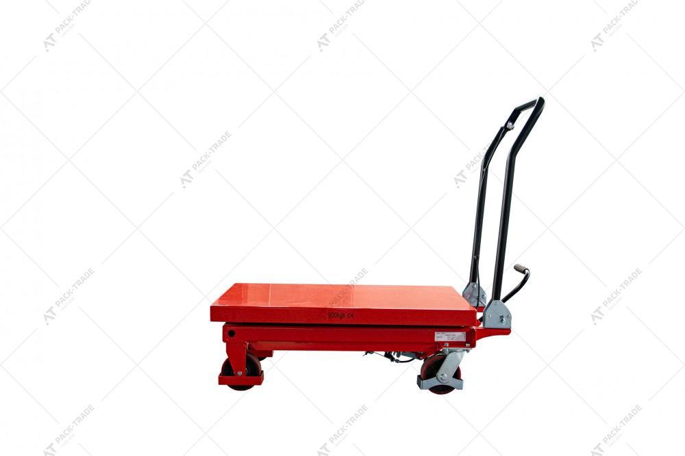 Передвижной подъемный стол модель TF50