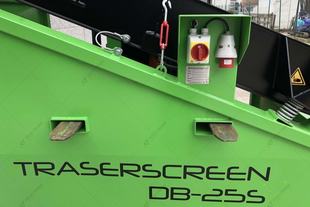 Грохот (вібраційний просіювач) TRASERSCREEN DB-25S