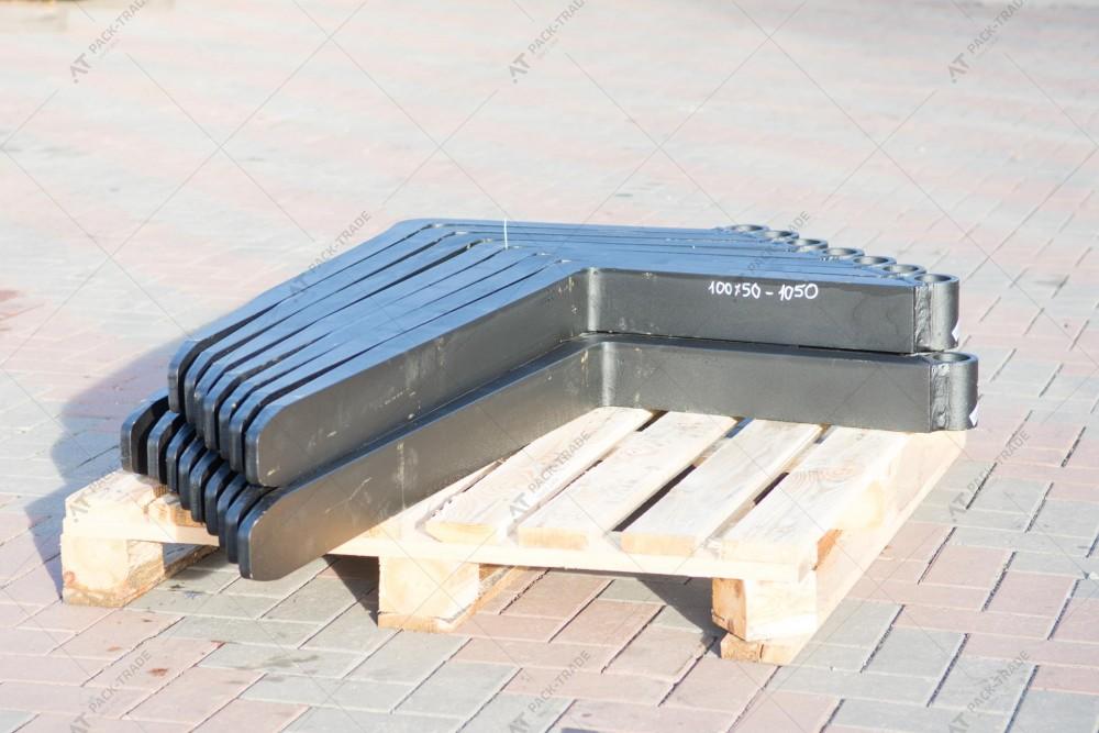 Вилы для телескопического погрузчика 100х50х1150х570 HANGZHOU