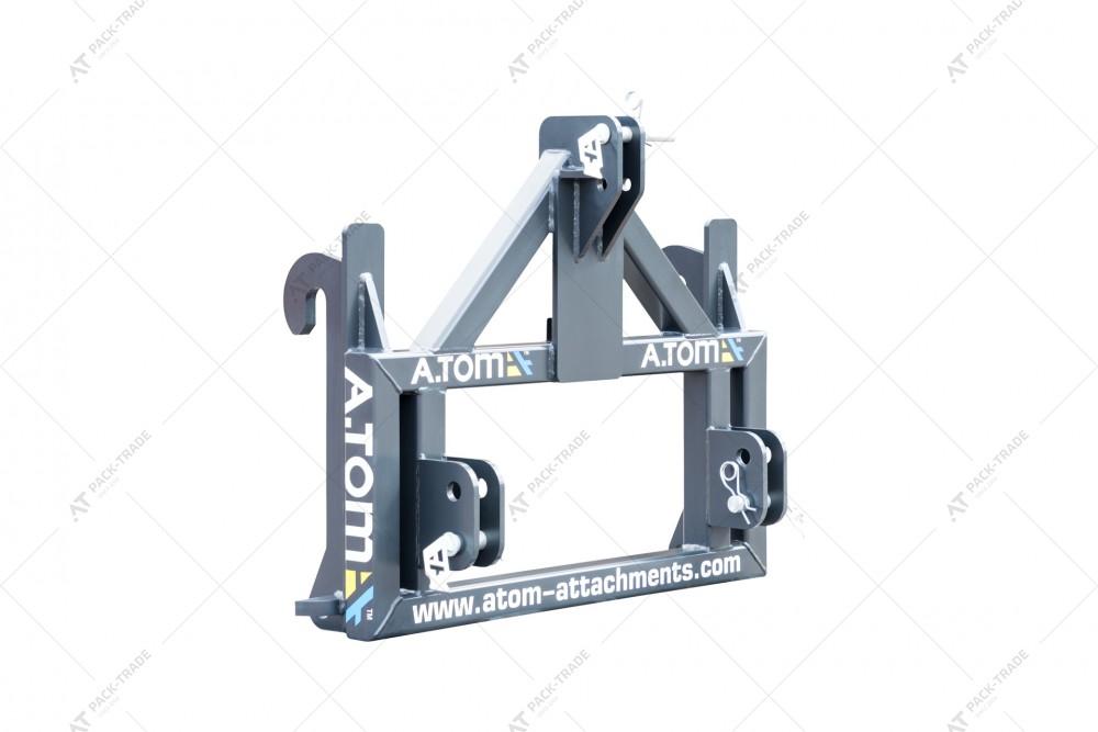 Адаптер JCB (Q-FIT) - трехточка A.TOM