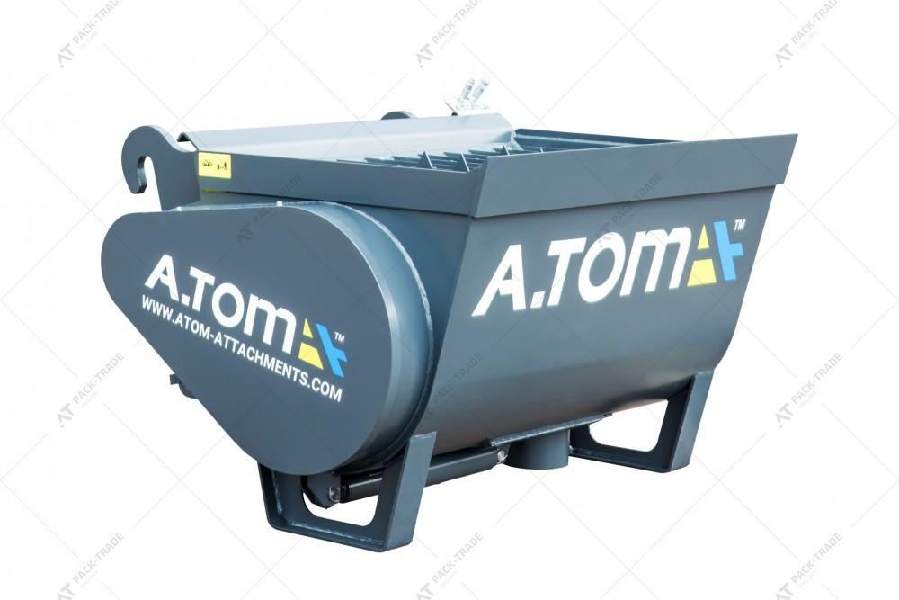 Ковш смеситель А.ТОМ 0,9 м³ (для бетона)